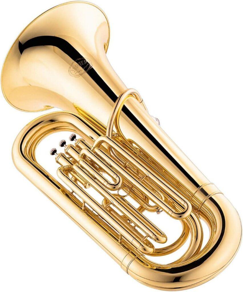 Jupiter 378 Series 3-Valve ¾ BBb Tuba 378 L Lacquers