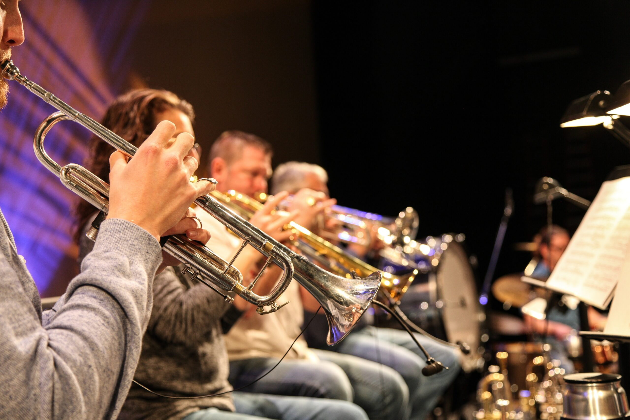 History and Types of Tubas: orchestra playing