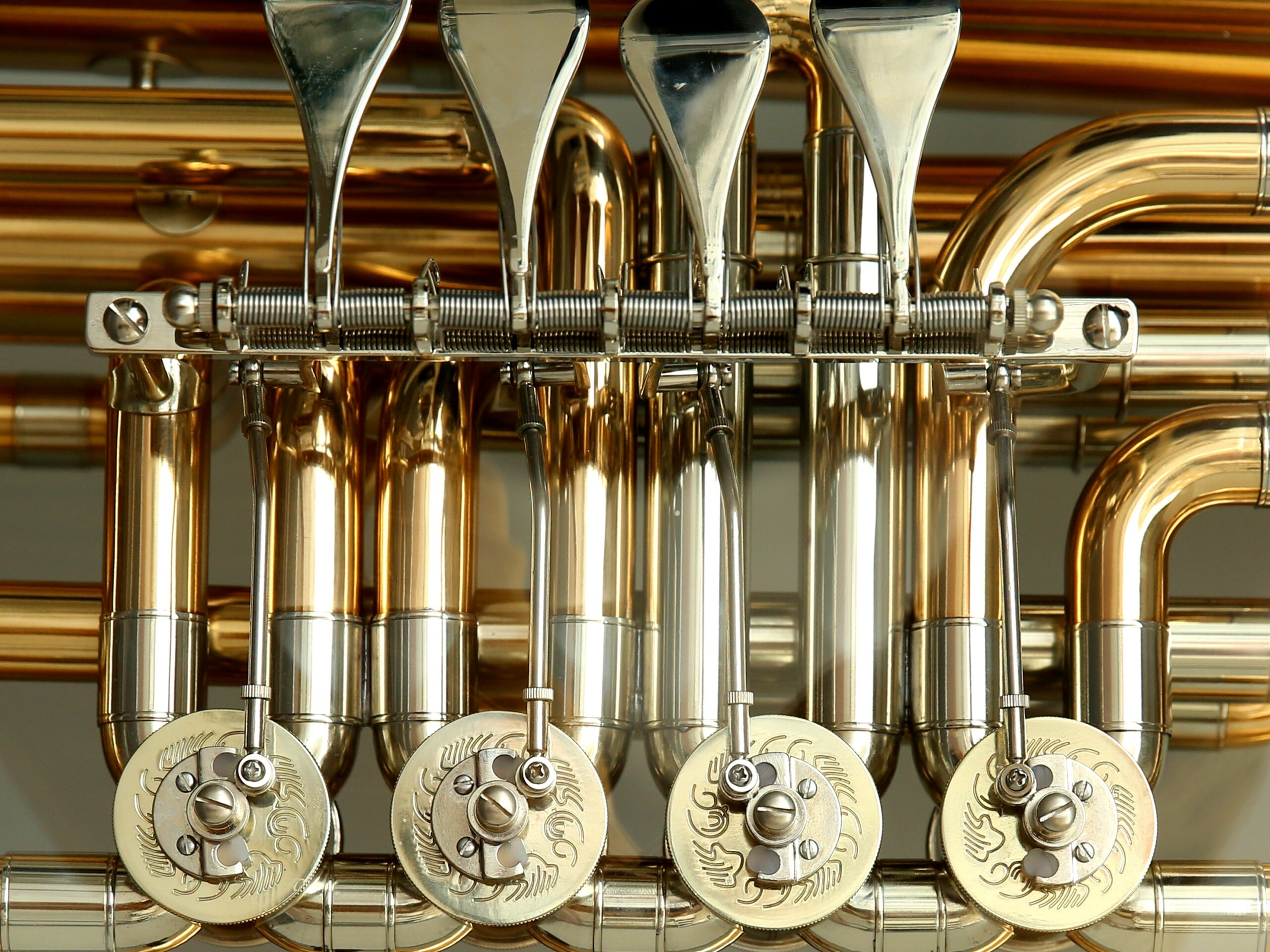 History and Types of Tubas: the valves
