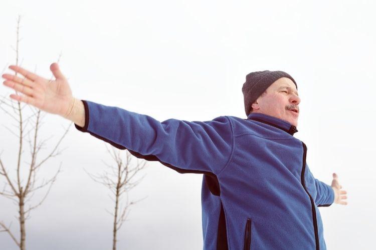 Breathing Exercise While Walking