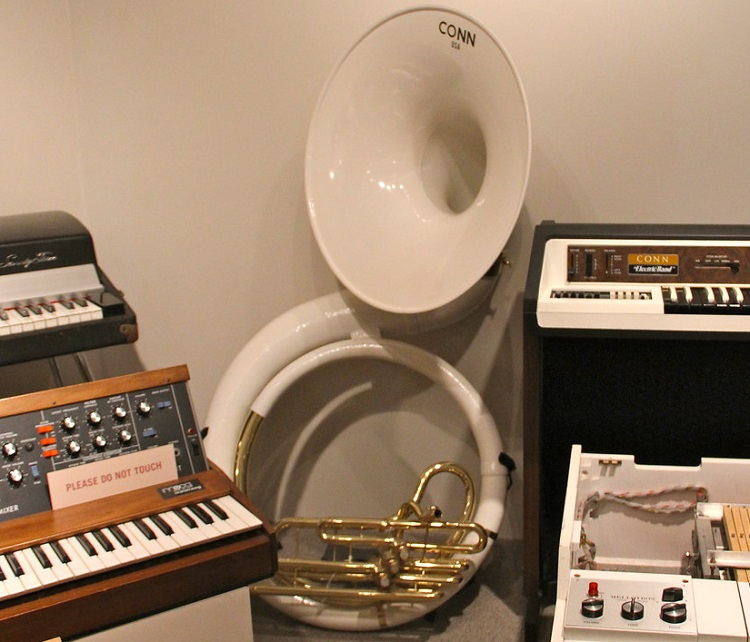 History and Types of Sousaphones C.G. Conn Sousaphone