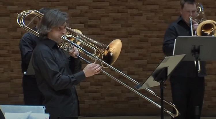 Types of Trombones: trombone contrabass