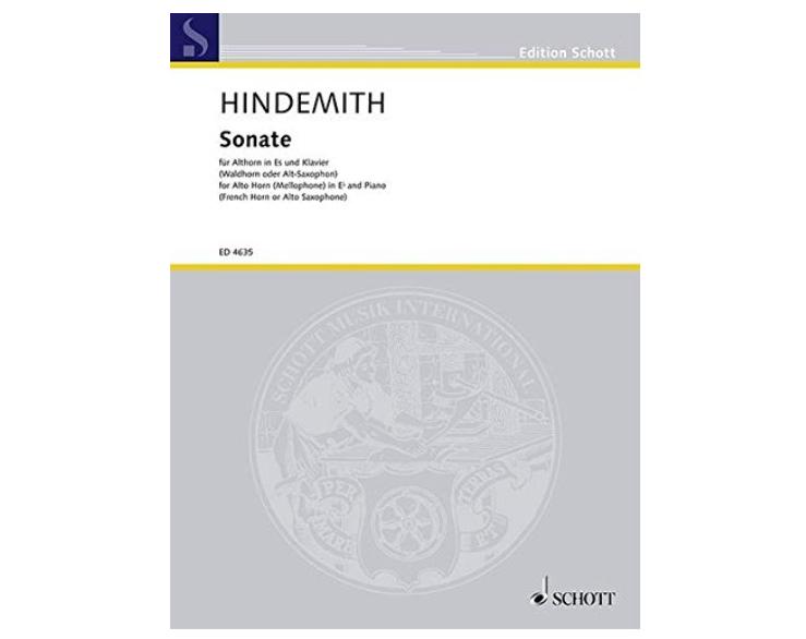 Hindemith Sonata for Alto Horn