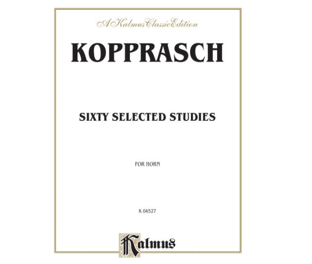 Kopprasch Sixty Selected Studies